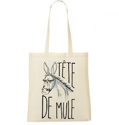 Totebag Tête de mule