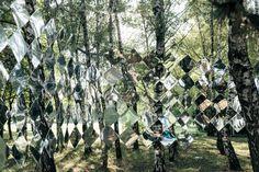 Studio Nomad Creates Mirrored Pavilion for Hungary's Sziget Music Festival