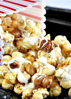 White Chocolate Candied Macadamia Nut Cracker Jacks | The Hopeless Housewife