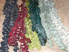 Eucalyptus Baby Spiral 1 Pound bunch - Assorted colors available