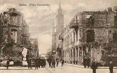 Kanonicka Street in Kalisz (1914)