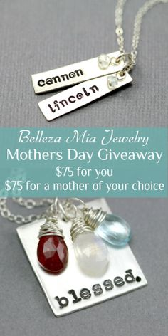 Belleza Mia Jewely Mothers Day Giveaway