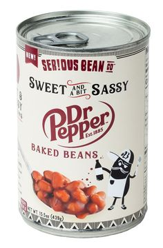 Serious Bean Co. Sweet and Sassy Dr Pepper Baked Beans Tapas, Bbq Pitmasters, Cracked Pepper, Dr Pepper, Baked Beans, Natural Flavors, Vegan Recipes, Food And Drink, Stuffed Peppers