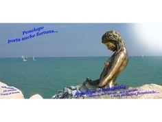 """Mezzo busto di Penelope,simbolo di amore,amicizia e bellezza femminile......E simbolo """"acquatico"""" di Senigallia, città adriatica dalla rinomata spiaggia di velluto.....! Provincia di Ancona, Marche.  [20150101-penelope-320x240.jpg (320×240)]"""