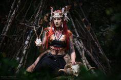 Headdress: Karonell Mod/MU/styl.: Slavika Photo: Katarzyna Mikołajczak Photography