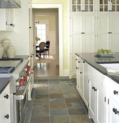Slate Floor Kitchen Frigidaire Gallery Package 44 Best Images Flooring May Be Your Answer To Durability Beauty And Style White