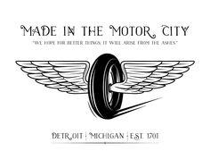 Image of Bundled - Motor City Print