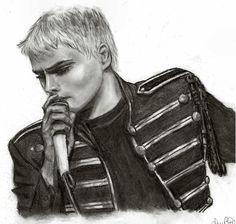 Gerard Way in the BLACK PARADE by ~pudgethefish on deviantART