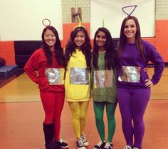Check out the best Group Halloween Costume ideas perfect for college Halloween parties. These Halloween Costumes for 3 are perfect for girls & also womens. Diy Halloween Costumes For Girls, Halloween Diy, Halloween College, Halloween Couples, Family Halloween, Halloween Stuff, Halloween Decorations, Group Costumes For 4, Costume Ideas