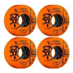 Bones Wheels All-Terrain Formula Filmer Lucas Vintage Orange Skateboard Wheels - available now at Warehouse Skateboards! #whskate #skateboarding