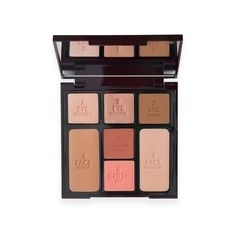Create a captivating and ethereal finish by using the Charlotte Tilbury Instant Look in a Palette Beauty Glow.