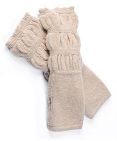 Ecru Alpaca Gloves | Daily deals for moms, babies and kids
