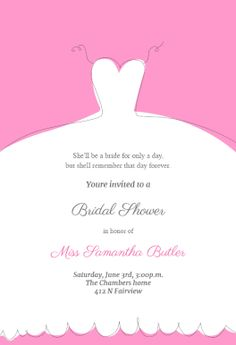 52 best bridal shower invitation templates images on pinterest