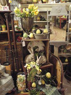 Lori Miller's Round Barn Potting Company: feed the chicks