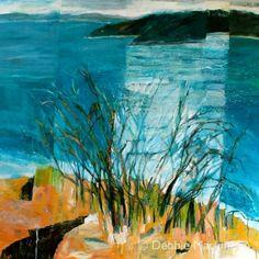 Ocean, Shoreline, Seascape, Australia, contemporary landscape, painting, Debbie Mackinnon, artist @primaXOXO @cesarXOXOXO @emmaruthXOXO @krisOXOXOXO @michaelOXOXO @JonXOXOXO