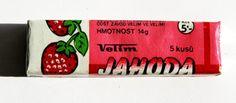 Ovocné žvýkačky