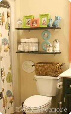 Diy bathroom decor ideas on pinterest bathroom ideas for Small kids bathroom ideas