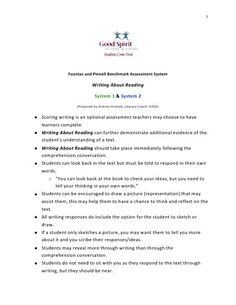 Simple Ways to Assess the Writing Skills of Students with Learning Disabilities