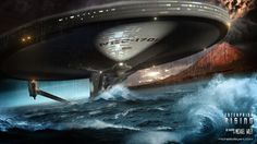 Enterprise Rising by trekmodeler.deviantart.com on @deviantART