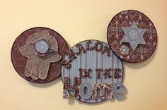 Just in time for Chanukah! Shalom In The Home Jewish Wall Hanging by Po-Zi Designs on Etsy, $36.00