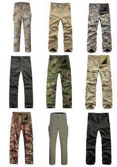 Calça Masculina Cargo Camuflada Multicam Atack, Calças Masculinas, Use Militar