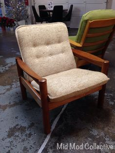 Danish Modern Teak Side Chair By Domino Mobler. Also Available, Matching  End Table,