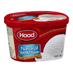 I'm learning all about Hood Ice Cream Natural Vanilla Bean at @Influenster!