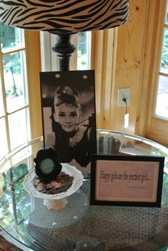Frame Pictures of Audrey Hepburn and her quotes for extra 'Breakfast at Tiffany 's' flair!