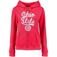 Ohio State Buckeyes Women's Full-Zip Hoodie - Scarlet - $35.99
