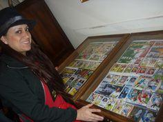 Los asistentes no tardaron en llegar a nuestra muestra en Uruguay / #soccer #collection #fútbol #musseum #sports
