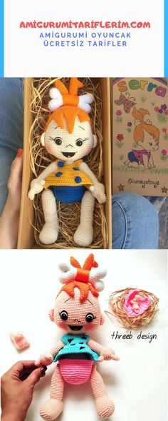 Amigurumi Gravel Baby Recipe - My Amigurumi Recipes - Crochet Crochet Amigurumi Free Patterns, Crochet Doll Pattern, Baby Knitting Patterns, Crochet Dolls, Doll Patterns, White Teddy Bear, Knitted Teddy Bear, Crochet Teddy, Teddy Bears