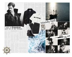 """""""Killian Jones, but most people have taken to call me by my more colourful moniker – Hook."""" by lauraastyle ❤ liked on Polyvore featuring Once Upon a Time, Adeco, Zizzi, Chicnova Fashion, 2nd Day and 3.1 Phillip Lim"""