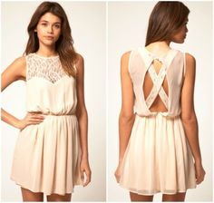 This would be the perfect graduation dress.