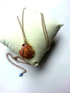 Hawaiian Shell Wire Wrapped Necklace