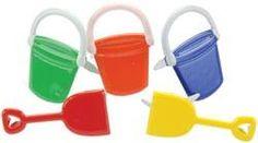 Eyelet Outlet Brads - Bucket & Shovel