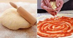 Máte chuť na pizzu? Tak si ji udělejte doma. Je chutnější než v pizzerii a rychlejší než v případě donášky - Russian Recipes, Dumplings, Pineapple, Good Food, Pizza, Mozzarella, Bread, Cheese, Fruit