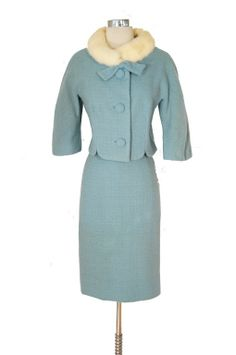 1960s Lilli Ann winter suit ...my love of Lilli Ann knows no bounds.