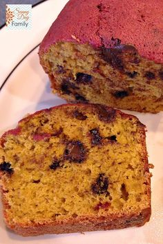 Chocolate Chip Banana Bread with Hidden Vegetables. You will never taste the superfood hiding in here!