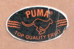 fruit sticker #puma