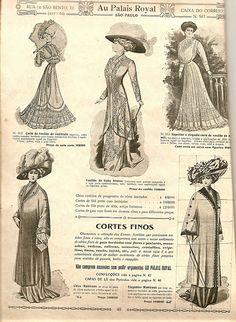 figurinos 1911