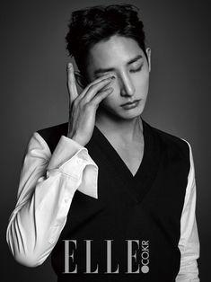 Lee Soo Hyuk - Elle Magazine March Issue '15