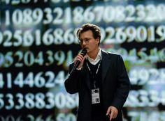 Trailer for Transcendence starring Johnny Depp, Rebecca Hall and Morgan Freeman