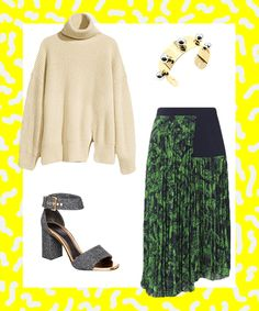 Exactly How To Wear Fall's Trickiest Trends #refinery29  http://www.refinery29.com/fall-outfit-inspiration-2014