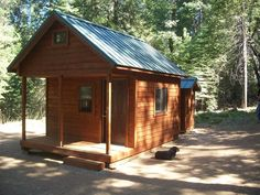 The plan to make a cabin house is perfect as a place to rest while doing the hunt in the open. You can adjust or adjust the existing cabin plan and incorporate your own ideas. The hunting cabin pla… Prefab Log Homes, Cabin Homes, Tiny Homes, Lake Cabins, Cabins And Cottages, Wood Cabins, Small Cabins, Log Cabin Kits, Cabin Plans