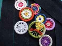 Marigold Jam: Dorset buttons - buttons made from thread and rings