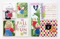 Fall Into Fun Layout by Danielle Flanders for Papertrey Ink (September 2014)