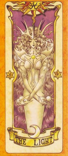 Light This is The Light Clow Card from the Card Captor Sakura anime and manga series by CLAMPThis is The Light Clow Card from the Card Captor Sakura anime and manga series by CLAMP
