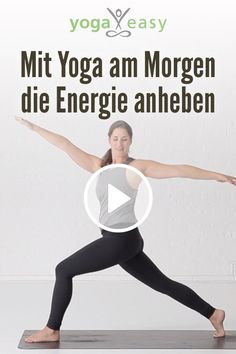 Yoga am Morgen: Energie anheben Yoga Video, Yoga Fitness, Health Fitness, Fitness Workouts, Reiki Meditation, Mindfulness Meditation, Pranayama, Hormon Yoga, Frases