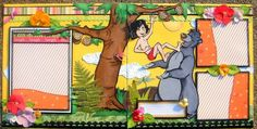 Twag Lin Disney Jungle Book Premade Scrapbook Pages for Boy or Girl | eBay