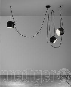 Flos Aim Small LED Sospensione 3 Pendel